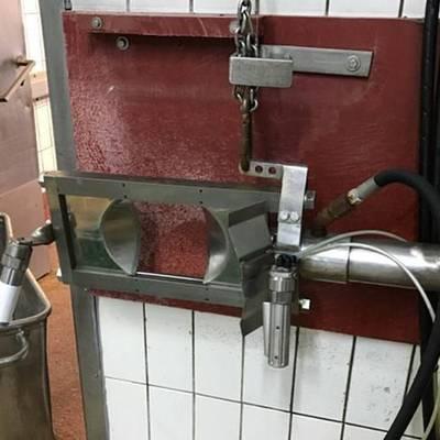Horn guillotine
