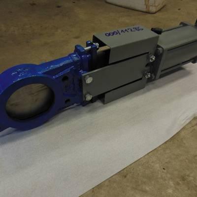 Knife gate valve