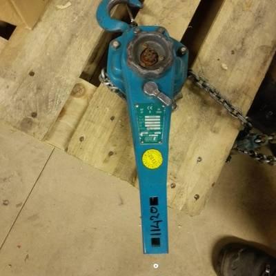 Chain hoist (manual)