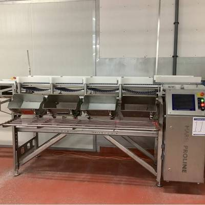 Check weighing and calibration line
