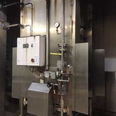Flaming furnace - propane gas