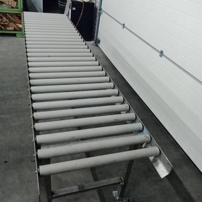 Roller coveyor belt