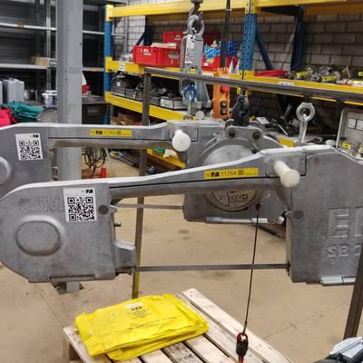 Splitting saw
