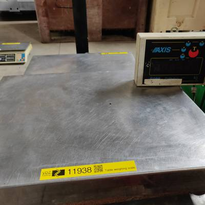 Table weighing scale