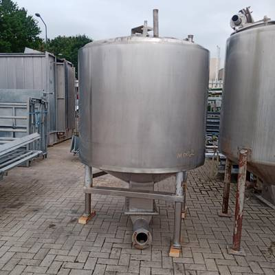 Stainless steel tank - Insulated